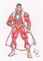 Captain Marvel/Shazam Design by soysaurus1