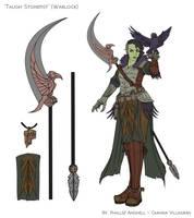 Taugh Stonefist - Warlock by PhallseAnghell