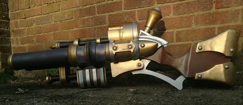 Graves Shotgun Replica from League of Legends by AndromedusProps