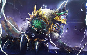 A Roar to the Heavens, Zinogre by Aeflus