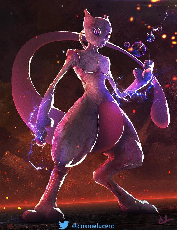 Mewtwo by Aeflus
