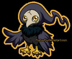 Corvusmon by FlyKiwiFly