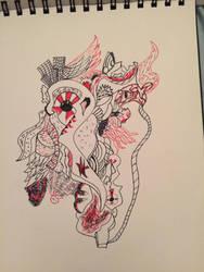 Doodle 2 by Kezrei