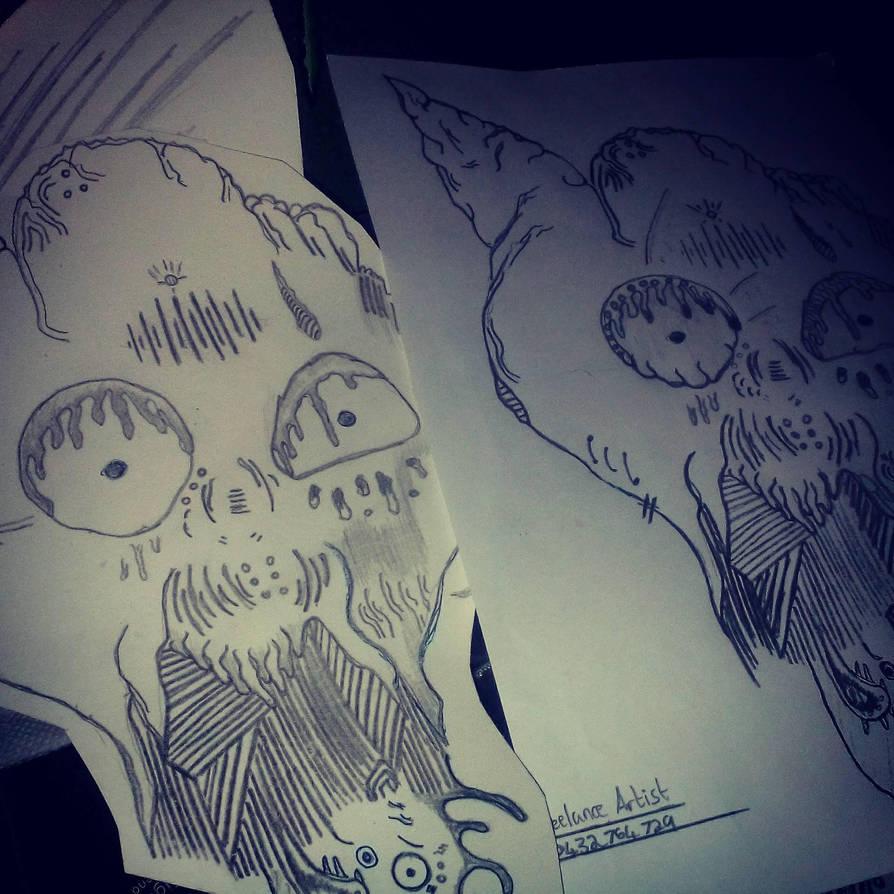 sketchy sketchings by Entry7 ...