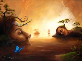 Elysian Wetlands by SilentBeforeTheStorm