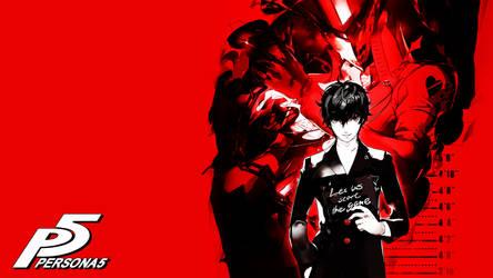 Persona 5 Wallpaper by CrossXAce