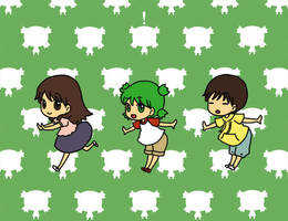 smooooch Yotsuba version by superdonut