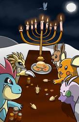 Pokemon Hanukkah by RainbowzBoom