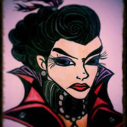 Regina, the Evil Queen by MykaeLRavenstaR