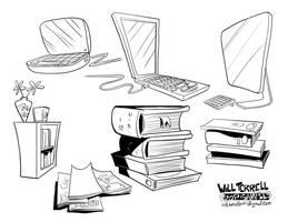 Prop-designs Books by willterrell