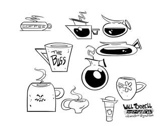 Prop-designs Cups by willterrell
