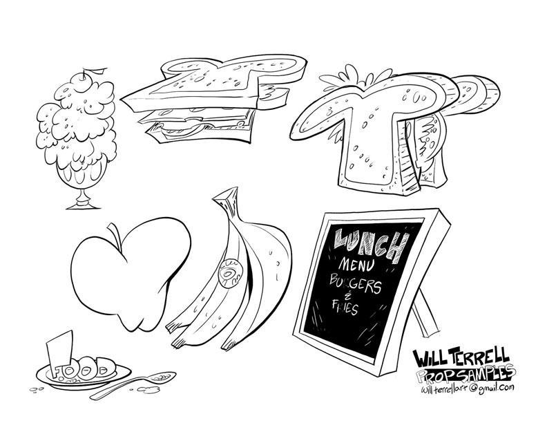 Prop-designs Foods by willterrell