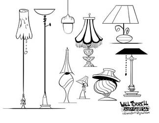Prop-designs Lamps by willterrell