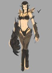 Sketch Char04 by DanZelt