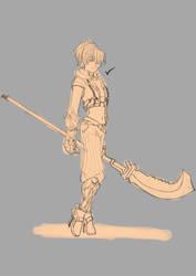 Sketch Char03 by DanZelt