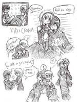 KidXChrona -practice doodles- by freaky-anime-doodler
