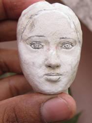 head portrait sculpture by airwind080
