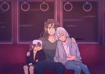 long train ride by zulfa255