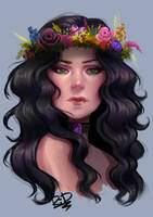 C: Flowercrown by Rali-95
