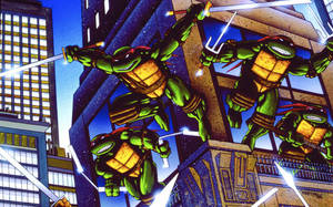 Teenage Mutant Ninja Turtles by FistfulOfYoshi