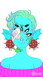 Water Monster by CrazyRandomZynGirl