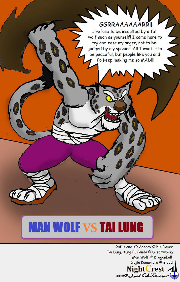 K9 Agency Man Wolf Vs Tai Lung 3 By Nightcrestcomics On Deviantart