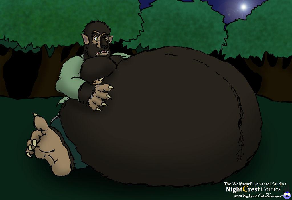 Big Bad Fatty Were Original Wolfman By Nightcrestcomics On Deviantart
