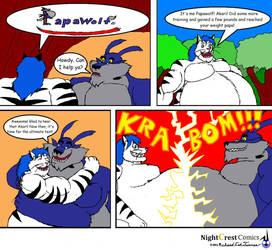 Papawolf Comic 94 by NightCrestComics