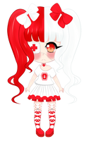 [My OC] Scarlet by LunaShoujo