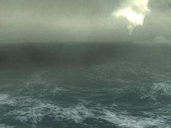 Choppy Sea by GreyAreaRK1