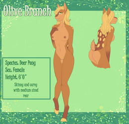 Olive Branch Anthro Ref by Firelight320