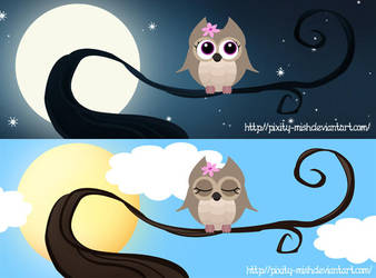 Facebook Cover pics - Owl by pixity-mish