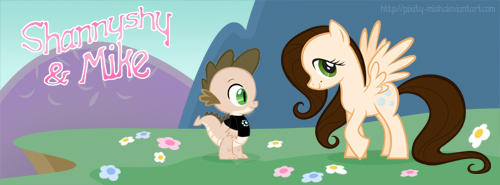 Facebook Cover pics - MLP Michael and Shannon by pixity-mish