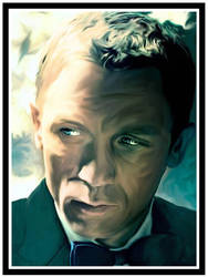 James Bond Portrait by jvetoe