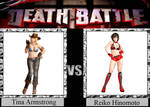 Tina Armstrong vs. Reiko Hinomoto by JasonPictures