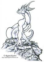dragons - kaladur by RegineSkrydon