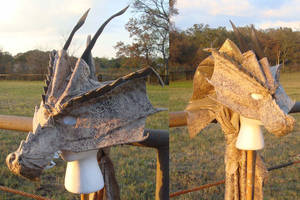 Mask - Bronze Dragon2 by RegineSkrydon