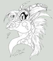 Dragons - Chai-oh CUTE by RegineSkrydon