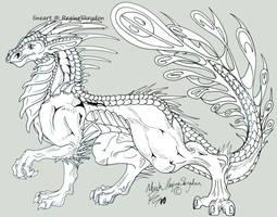 Dragons - Noah by RegineSkrydon