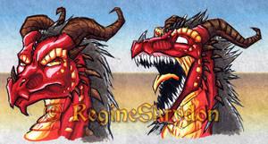 Red Dragon - Freakzter by RegineSkrydon