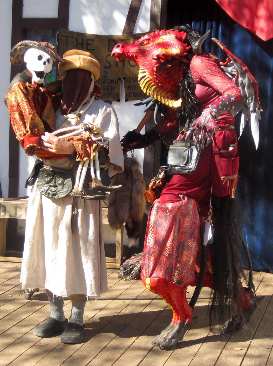 Red Dragon Meets Dead Bob2010 by RegineSkrydon