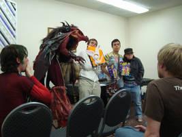 TRD - SFASU Game Club Halloween Costume Contest by RegineSkrydon