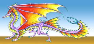 Dragons - Little Water by RegineSkrydon