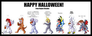 HAPPY HALLOWEEN by RegineSkrydon
