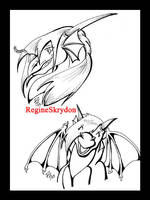 Dragons - Dreamous IconRequest by RegineSkrydon