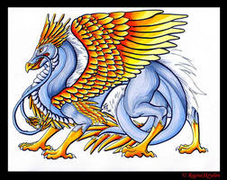 Dragons - Phoenix Dragon C by RegineSkrydon