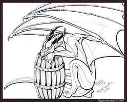 Dragons - Pirate by RegineSkrydon