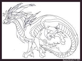 Dragons - Karama by RegineSkrydon
