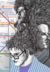 Thinking of Sherlock by SaisDescendant