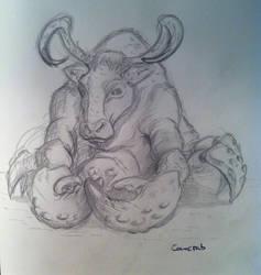 Cowcrab by SaisDescendant